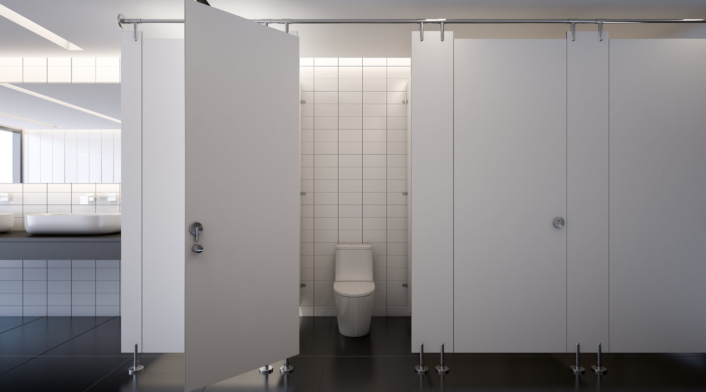 Why Bathroom Stalls Are Above The Ground? - 10-Spec