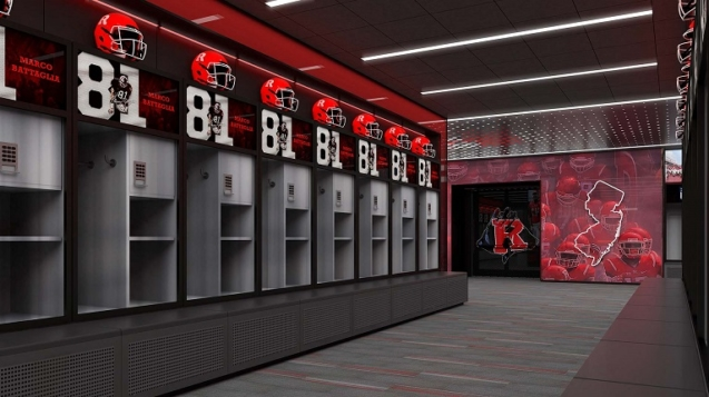 Rutgers Baseball Locker Rooms