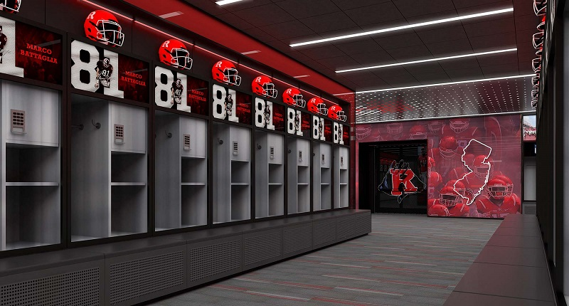 Rutgers Baseball Locker Rooms