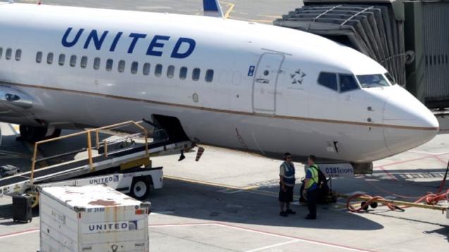 United Airlines Flight Kitchen