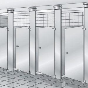 Toilet partition dimensions