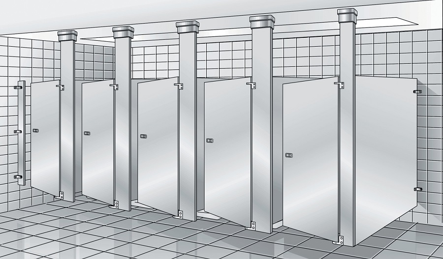 Toilet Partition Dimensions All You Need To Know 10 Spec