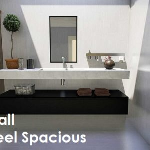 Small commercial Restroom design guide
